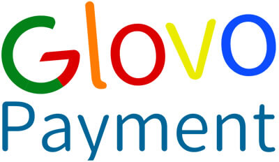 Colorful Glovo Payment Logo